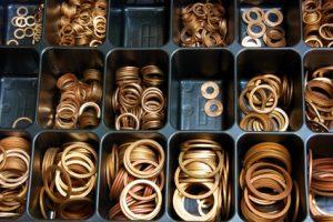 Kupfer-Dichtringe bild Fotolia