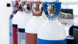 Gase für Lebensmittel und Getraenke